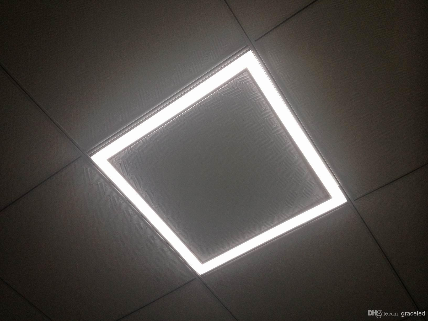 Suspended Ceiling Lights 600mm X 600mm : Dimmable led fram ceiling light w mm high
