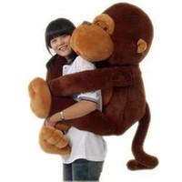 большая мягкая плюшевая обезьяна оптовых-110/130 см (43/51