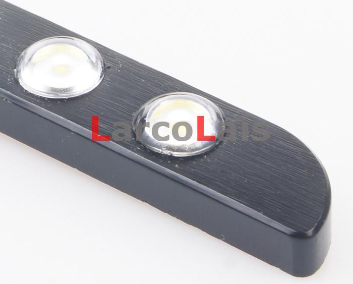 Branco 2x6 LED L 7 F Forma Olho de Águia Luz de Circulação Diurna DRL À Prova D Água cauda de Backup Reverter Luzes de Alta Potência Como Bens E classe