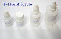 Wholesale Ego W Clearomizer Cap - Empty E Liquid Dropper Bottle w  Cap 10ml 15ml 30ml 50ml for Ego Series Electronic Cigarette ego Atomizer Clearomizer