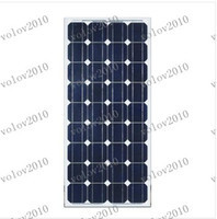 Wholesale Solar Systems For Homes - LLFA1296 100w Solar Panel Module Monocrystalline Grade A Brand New Solar Module Photovoltaics Kits Solar Home System