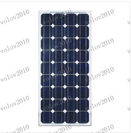 Discount solar panels home system LLFA1296 100w Solar Panel Module Monocrystalline Grade A Brand New Solar Module Photovoltaics Kits Solar Home System