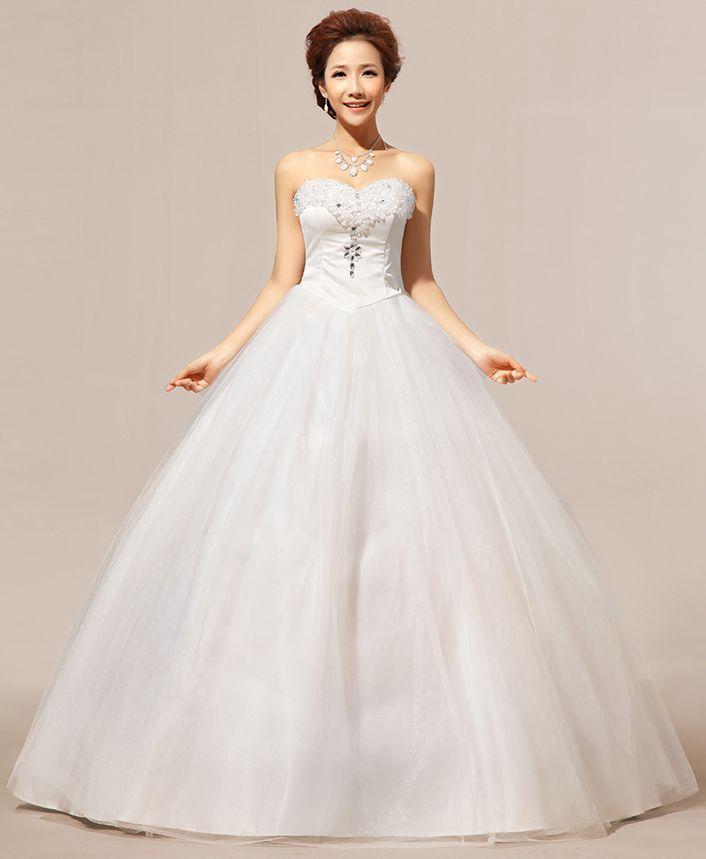 Wedding Gown Bra: Bra Korean Wedding Dress XS32 Victorian Wedding Dresses