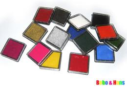 Livraison gratuite / nouvelles couleurs mignonnes tampon encreur / tampon encreur Timbre pour bricolage travail drôle / gros, 40pcs / lot ? partir de fabricateur