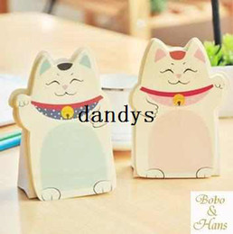 Notepad Cats Canada - Free Shipping   New cute cats styles Notepad   Memo pad   Paper sticky note   message post   Wholesale