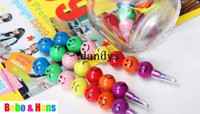 Wholesale New cute Candied haws on a stick colors Crayons Korean Style Promotion Gift
