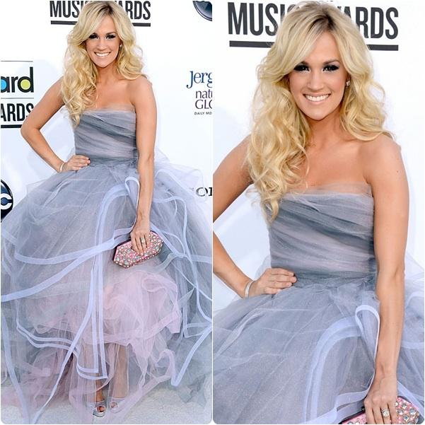 2016 Hot Sale Carrie Underwood Strapless Tulle Dress Ball Gown ...