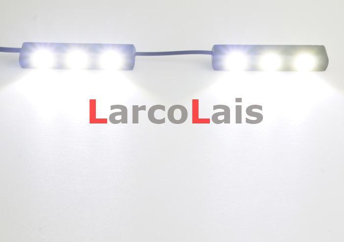 2x3 LED Weiß Eagle Eye Tagfahrlicht DRL Wasserdichte Schwanz Backup Rückfahrleuchte