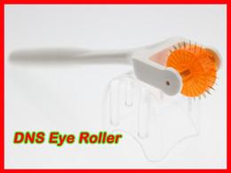 Eyes Dermaroller Canada - 20 pcs lot DNS Biogenesis Derma Roller 75 Needles Microneedle Therapy Dermaroller For Eye
