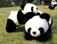 "1# 70CM 28"" Sprawled PANDA Stuffed Animal Plush Soft To..."