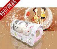 Wholesale Towel Cake Rolls - freeshipping Cake towel gift lovers animal rabbit marriage christmas gift