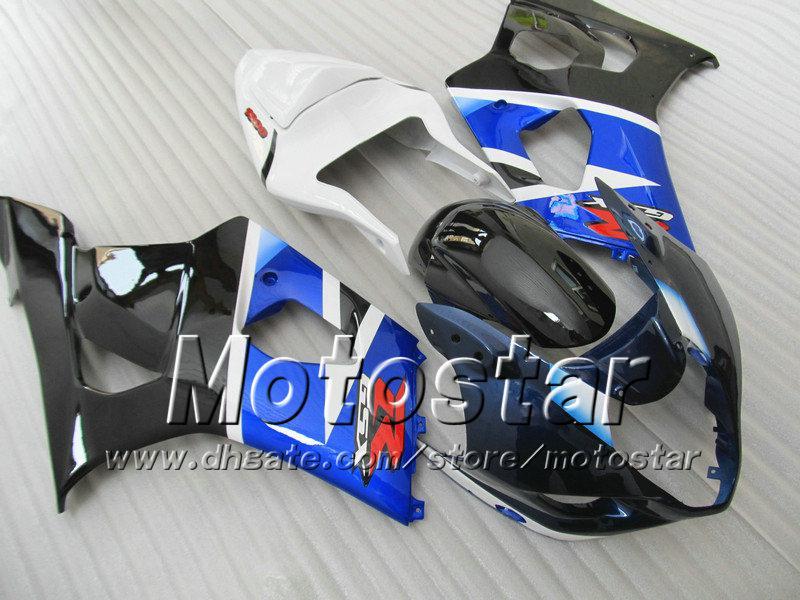 7 gifts abs fairings for SUZUKI GSX-R1000 K3 2003 2004 GSXR1000 03 04 GSX R1000 glossy white blue black fairing bodywork SA89