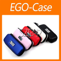 Wholesale Ego Series Case - eGo Case Travelling Zipper Case for eGo Series Electronic Cigarette red blue black white pink