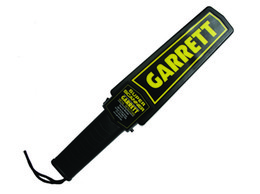 Wholesale Metal Search - Free Shipping 2018 NEW upgraded Sensitive Garrett New Super Scanner V Hand-Held Security Search Metal Detector Wand