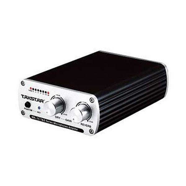 Takstar MA-1C 3D audio amplifier microphone preamps with 48V phantom power reverb power supply With Audio Cable XLR- XLR 3.5mm plug- XLR-F
