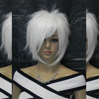 Wholesale Cosplay Lolita Wigs White - Lolita mixed party cosplay curly wavy fashion wig woman bang fringe long straight.WTY-368