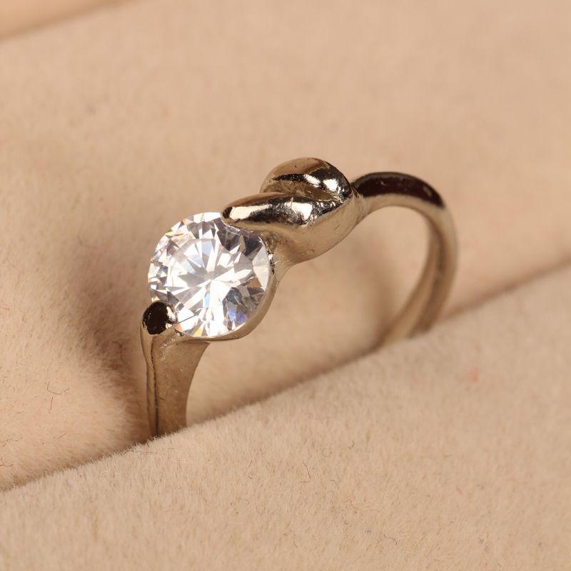 2018 Century Classic 18k White Gold Diamond Ring Replica ...