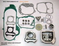 Wholesale Boring Cylinder - Free Shipping 100cc Big Bore Kits 139QMB GY6 50cc Engine(64mm Valve) scooter parts @70002
