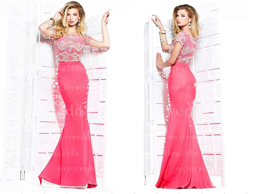 Pink Sequin Prom Dresses 2013 2013 Sexy New Hot Pink Short