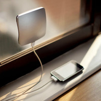 Wholesale Solar Energy Wholesale - Emergency back-up solar energy Sticky rechargeable High-end Window Solar Power Battery Charger for iPhone 4 4S iPad Samsung S3 S4 MP3 MP4