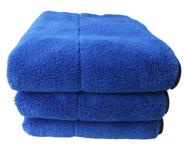 Wholesale Microfiber Cleaning Car Towel Polish - Sunland 3-pc High Quality 720GSM Thick & Plush Microfiber Towel 16 inch x 24 inch Car Cleaning Dusting Cloth Drying Buffing Polishing Towel