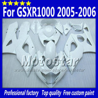 Wholesale Custom Painted Gsxr - Injection mold fairings set for SUZUKI GSXR1000 05 06 GSX-R1000 2005 GSXR 1000 2006 K5 accept custom paint any color.