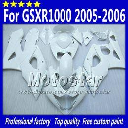 Parties de moule en Ligne-Jeu de carénages de moulage par injection pour SUZUKI GSXR1000 05 06 GSX-R1000 2005 GSXR 1000 2006 Pièces de rechange de carénage de carénage K5 aftermarket