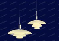 Wholesale Louis Poulsen Chandelier - LLFA1356 Acrylic and Metal Louis Poulsen PH 4 3 Pendelleuchte Pendant Lamp Chandelier Droplight Lighting Light