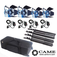 Compra Kit Di Illuminazione Video-(2x1000W + 2x650W) Fresnel Tungsten Lights Spot Spot Spotlight come ARRI