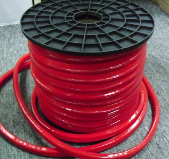 50Mスプールカラージャケットの柔軟なLEDネオンチューブソフトネオンロープ照明220V / 110V赤黄色ブルーグリーンの標識