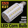 High Quality 12W E27 60 LED 5050 SMD 1080LM LED Corn Bulb White, Warm White 110-220V Corn Light Bulb LED Energy Saving Lamp
