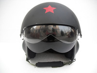 Wholesale Visors Motorcycle Shipping - Motorcycle Helmet Vespa TK Style Racing Jet Pilot Open Face Cycling OFF Road Matt Black Casco Adult & 2 Visor - Free Shipping