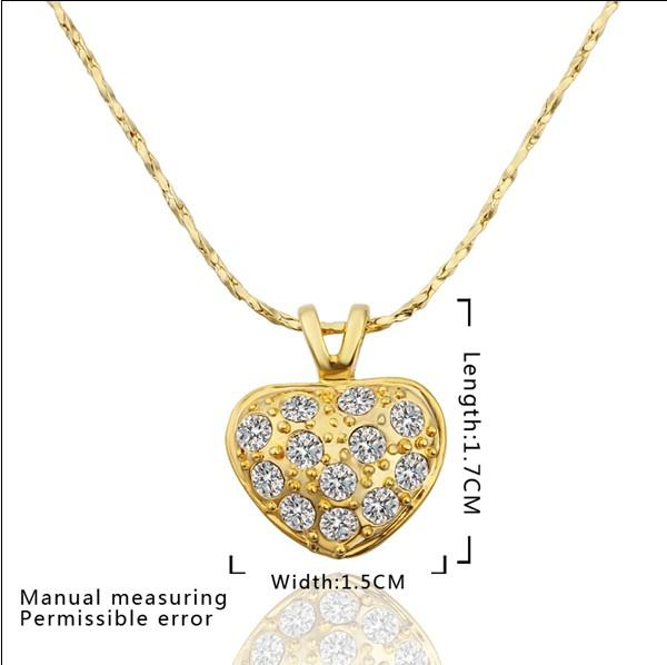 Wholesale High Quality Plated 18k Gold Inlay Czech Diamond