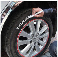 Wholesale Bike Motors - Permanent Waterproof Car Tyre Tire Metal Paint Marking Pen Marker Motor Bike