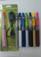 Wholesale Electronic Cigarette Ce6 Blister Pack - e cigarette KITS EGO CE4 blister card 650mah 900mah 1100mah, egot electronic cigarette starter kits, single e cig blister pack ce4 ce5 ce6