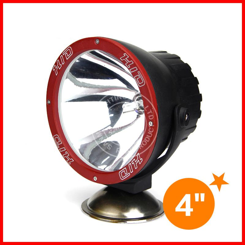 "4"" inch 55W HID Xenon Driving Light Spot / Flood Beam Off-Road SUV ATV 4WD 4x4 Jeep Truck Vehicle 3400lm 12/24V IP67 6000K Super Bright"