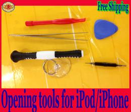 Wholesale Diy Kit For Iphone - Screw tools 6 in1 DIY Repair tools KIT set for iPhone iPad iPod Disassemble Professional mini tools
