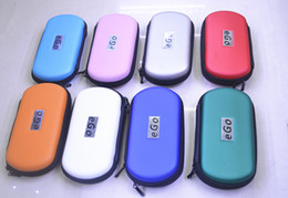 Wholesale Ego W Bag - eGo Carrry Case Colorful eGo Bag Gift Box for Ego Ego-t Ego-w Ego-c Electronic Cigarette E-cigarette e cigs Small Middle Big size with Logo