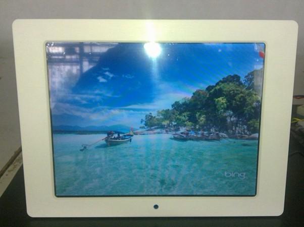 12.1 12 Inch Digital Photo Frame Multifunction Music Video Player Ebook Calend Clock