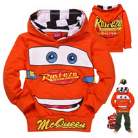 Wholesale Hoodies Cars - wholesale fashion autumn kids hoodies sweatshirt,cartoon cars baby boys polo hoody sweatshirts,childen pullover outerwear