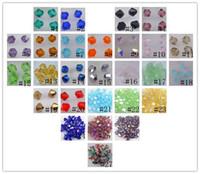 Wholesale Green Bicone Beads - Wholesale!Free Shipping! New Fashion beautiful 1000pcs 4 mm swarovski crystal 5301 Bicone Beads, U Pick color
