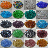 Wholesale Pink Bicone Crystal Beads - Wholesale! 2000pcs 4 mm swarovski crystal 5301 Bicone Beads, U Pick color