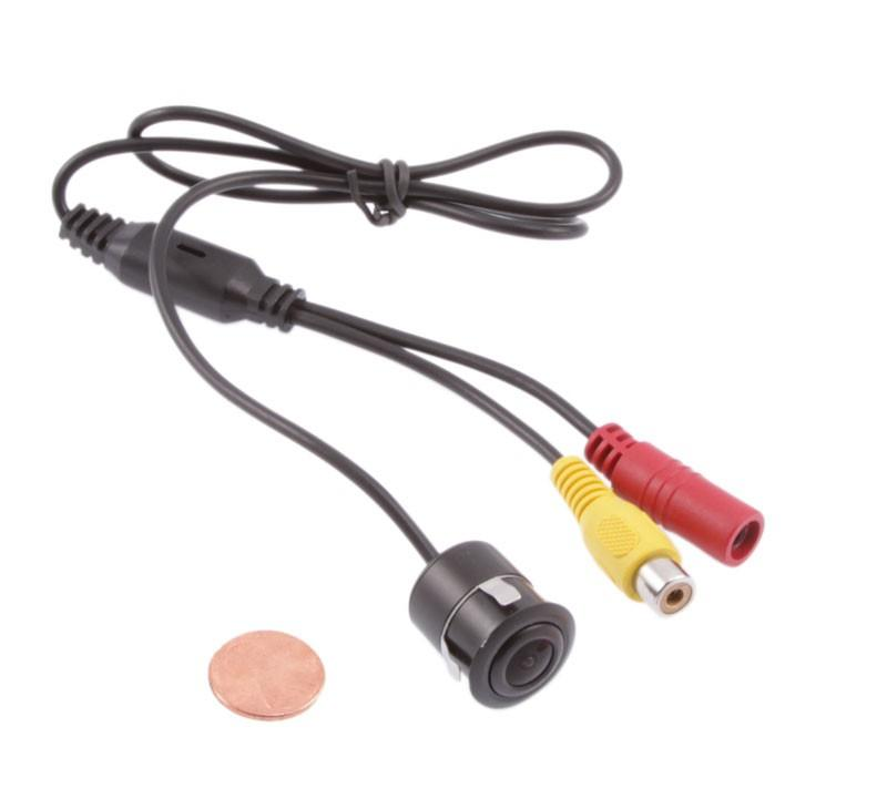 "Wireless Mini Reversing Camera 170°Waterproof + 4.3"" LCD Mirror Monitor Car Rear View Kit"