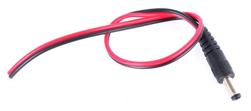 DC-Stromanschlusskabel 12V Monitoranschluss CCTV Überwachungskamera Power Pigtail Male Kabel für Sicherheitssystem