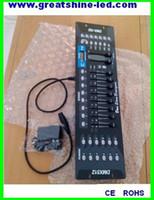 master dc al por mayor-Controlador maestro dmx 512 de 192 canales DC 9V12V consola dmx led utilizado para el control manual o midi de luces led dmx rgb