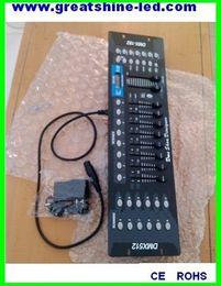 Wholesale 192 Channel Dmx - 192 channel dmx 512 master controler DC 9V12V led dmx console used for manual or midi control of dmx rgb led lights