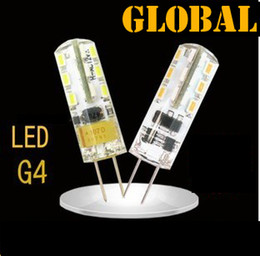Wholesale 3w G4 - High Power SMD 3014 3W 12V G4 LED Lamp Replace 30W halogen lamp 360 Beam Angle LED Bulb lamp warranty 2 years