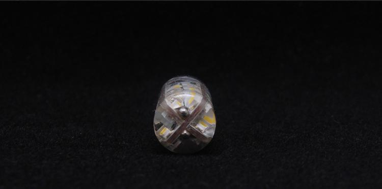 5X G4 Warm White LED bulbs Lamp 3014 SMD 3W DC 12V Replace 30W halogen lamp 360 Beam Angle Crystal lamp chandelier accessories