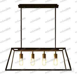 Wholesale Transparent Filament - LLFA1411 Modern RH Filament Chandelier Loft Edison Bulb Glass Box Pendant Lamp Dia 78cm