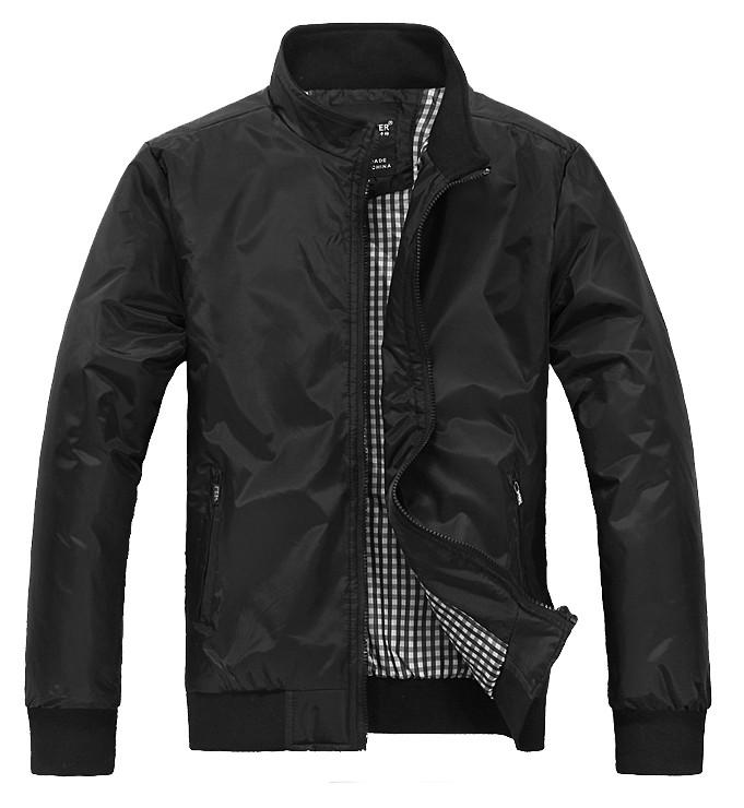 Spring New Men Stand-Up Collar Slim Thin Outwear Leisure Tide Jackets